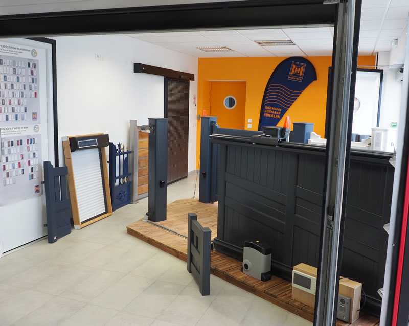 showroom de A2F Fermetures à Benodet